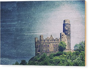 Castle Mouse Wood Print by Angela Doelling AD DESIGN Photo and PhotoArt