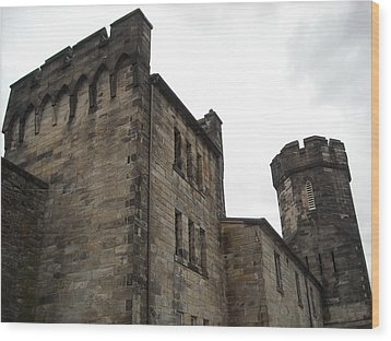 Castle Penitentiary Wood Print