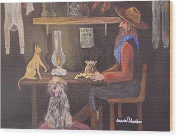 Catfish And Nugget Wood Print by Janna Columbus