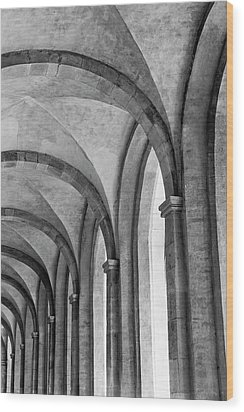 Cathedral At Eberbach Monastery Wood Print by Dg73