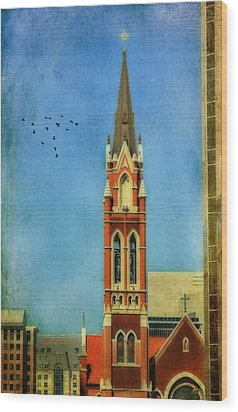Wood Print featuring the photograph Cathedral by Joan Bertucci