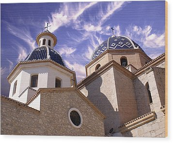 Wood Print featuring the photograph Cathedral by Rod Jones