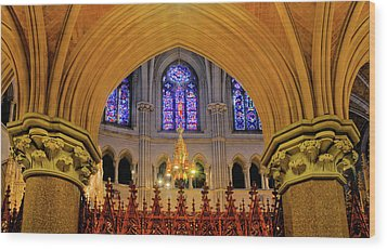Cathedral Study Wood Print by Dave Mills