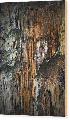 Cave02 Wood Print by Svetlana Sewell