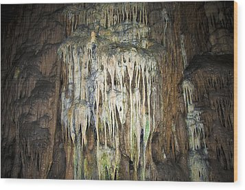 Cave04 Wood Print by Svetlana Sewell