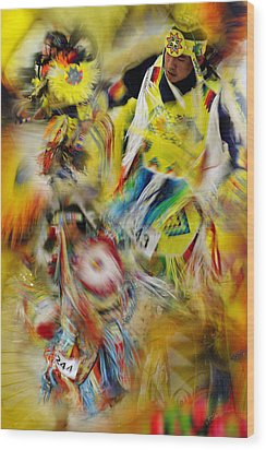Wood Print featuring the photograph Celebration Of Nations by Vicki Pelham