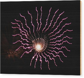 Wood Print featuring the photograph Celestial Eye by Chris Anderson
