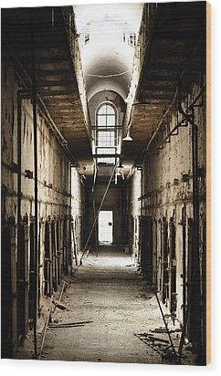 Cell Block Number 9 Wood Print by Bill Cannon