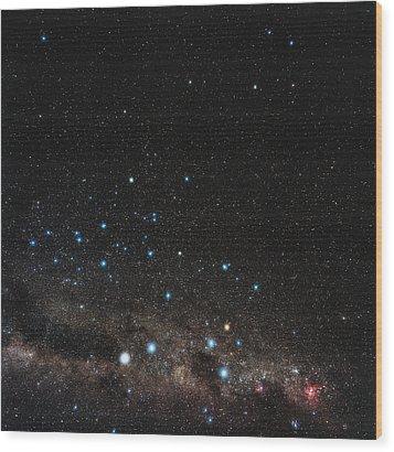 Centaurus Constellation Wood Print by Eckhard Slawik