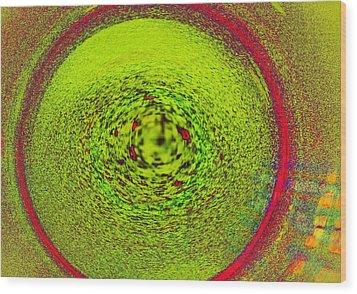 Centering Self Wood Print by James Mancini Heath