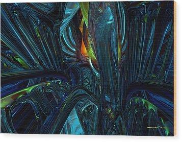 Certain Inner Peace Fx  Wood Print by G Adam Orosco