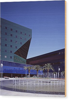 Cesar Pellis Pacific Design Center Wood Print by Everett