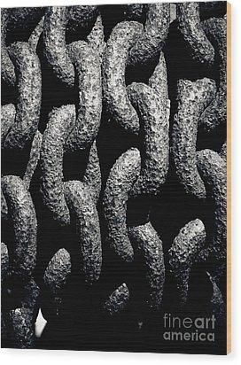 Chains Wood Print by John Buxton