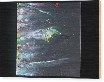 Chameleon Wood Print by Dan Cope