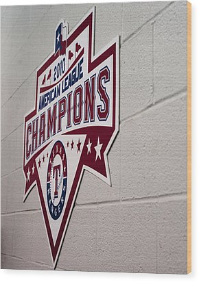 Champions Wood Print by Malania Hammer