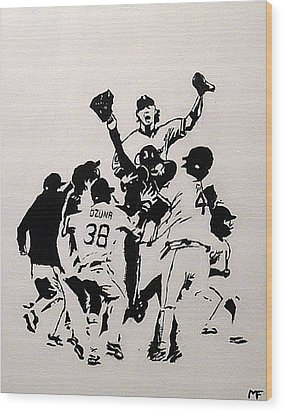 Champions Wood Print by Matthew Formeller