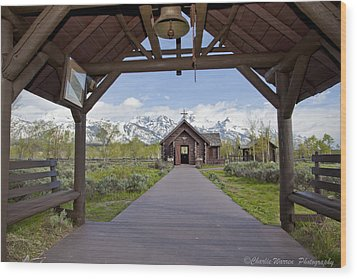 Chapel Of Transfiguration 1 Wood Print by Charles Warren