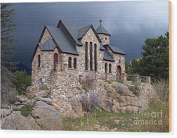 Chapel On The Rocks No. 1 Wood Print