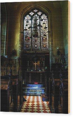 Chapel Wood Print by Svetlana Sewell