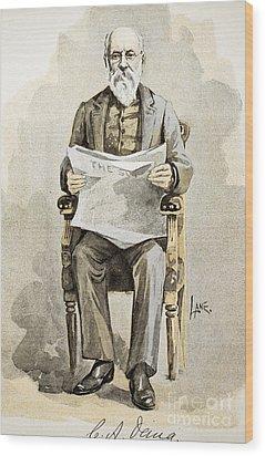 Charles Anderson Dana Wood Print by Granger