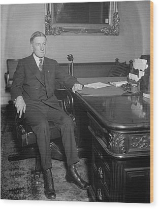 Charles Gates Dawes 1865-1951, Calvin Wood Print by Everett