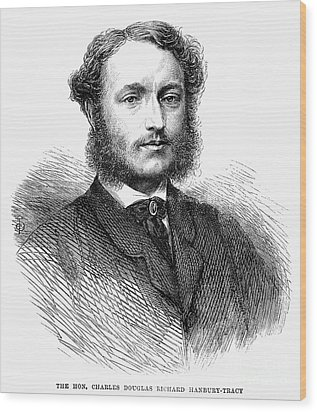Charles Hanbury-tracy Wood Print by Granger