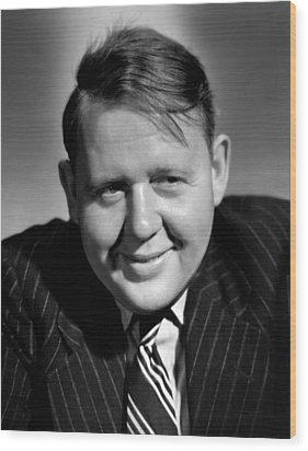 Charles Laughton, 1943 Wood Print by Everett