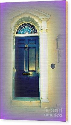 Charleston Door 6 Wood Print by Susanne Van Hulst