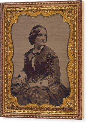 Charlotte Cushman 1816-1876, One Wood Print by Everett
