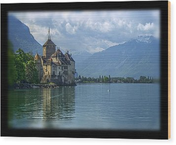 Chateau De Chillon Wood Print by Matthew Green