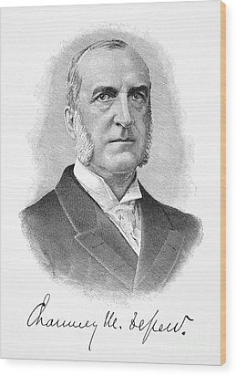 Chauncey Depew (1834-1928) Wood Print by Granger