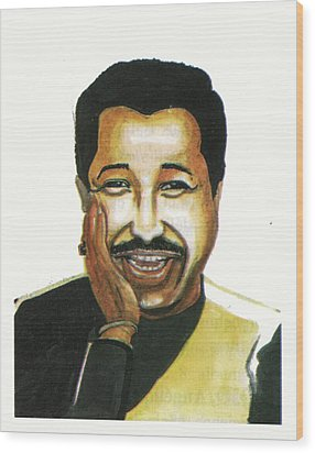 Cheb Khaled Wood Print