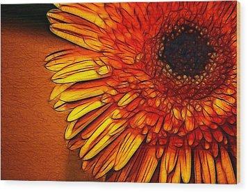 Cheers Wood Print by Joetta West