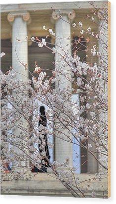 Cherry Blossoms Washington Dc 1 Wood Print by Metro DC Photography