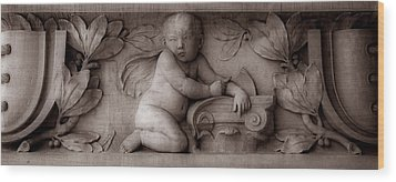 Cherubs 3 Wood Print by Andrew Fare