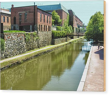 Chesapeake And Ohio Canal I Wood Print by Steven Ainsworth