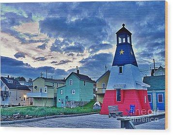 Cheticamp In Cape Breton Nova Scotia Wood Print