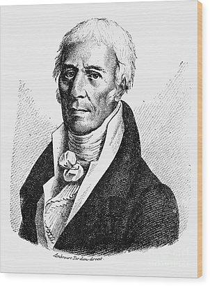 Chevalier De Lamarck Wood Print by Granger