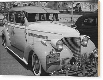 Chevy '39 Wood Print