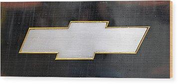 Chevy Bowtie Wood Print