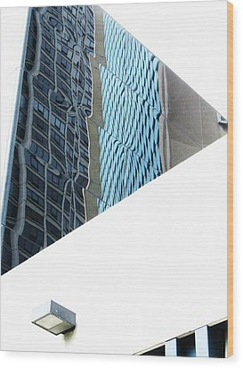 Chicago Heat Wave-2 Wood Print by Todd Sherlock