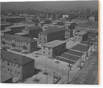 Chicagos Ida B. Wells Housing Project Wood Print by Everett