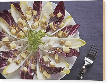 Chicory Salad Wood Print by Joana Kruse