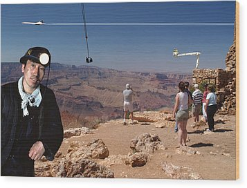 Chinese Buy Grand Canyon-1 Wood Print by Larry Mulvehill