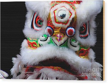 Chinese New Years Nyc 4705 Wood Print by Mark Gilman