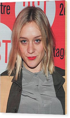 Chloe Sevigny In Attendance For Second Wood Print by Everett