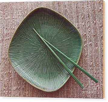 Wood Print featuring the photograph Chopsticks by Denise Pohl