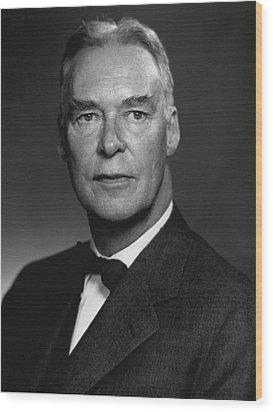 Christian Herter, Followed John Foster Wood Print by Everett
