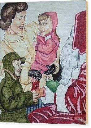 Christmas 1953 Wood Print