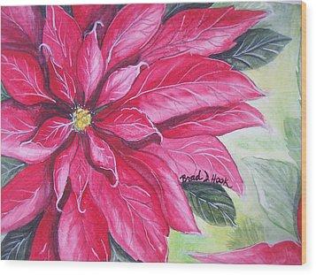 Christmas Cheer Wood Print by Brad Hook